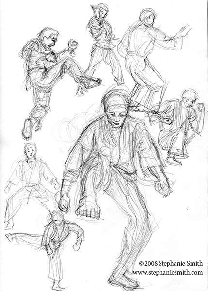 Gesture Drawing Worksheet : Ideas for gesture drawings choose a sport of activity