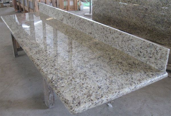 Giallo Ornamental Granite Kitchen Countertop Bathroom Vanity Top Worktop Benchtop Table Top Bar Top Prefab Granite Countertops Countertops Granite Countertops