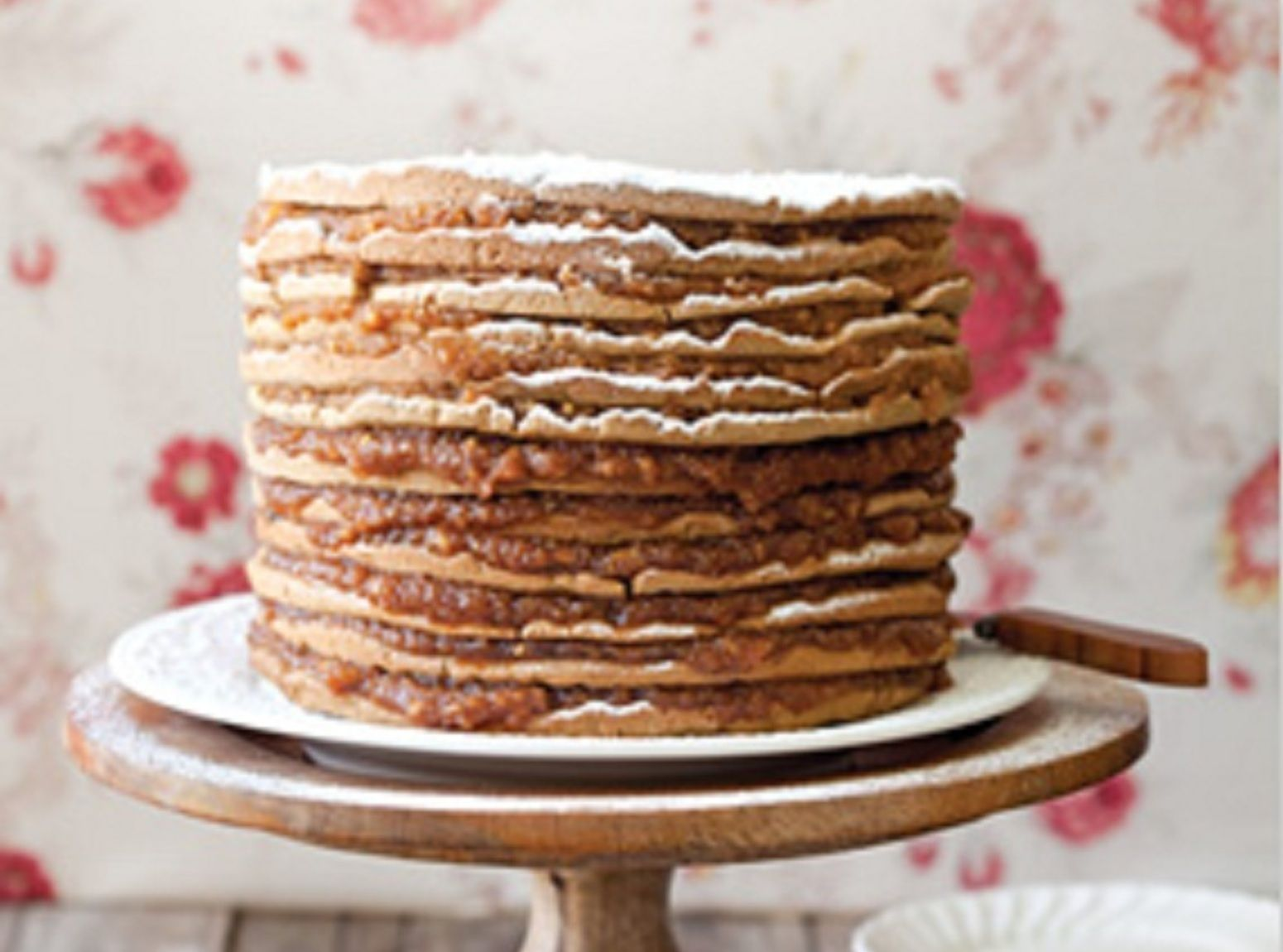 Old Fashioned Stack Cake With Appalachian Apple Butter Filling