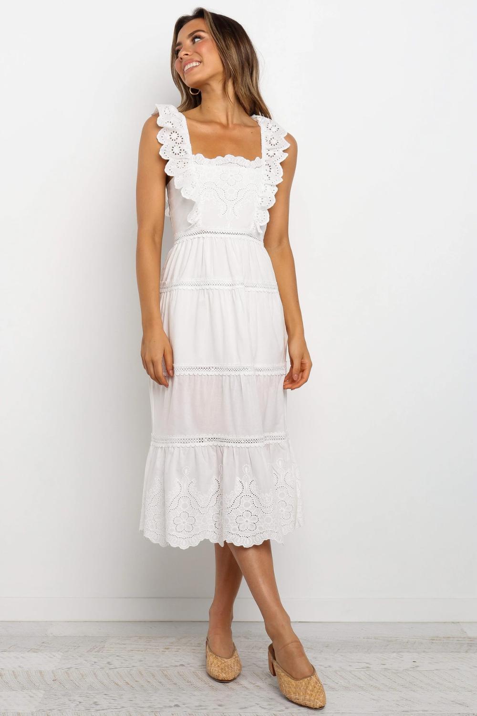 Clara Dress White Petal Pup Usa White Lace Summer Dress White Dress Summer White Embroidered Dress [ 1500 x 1000 Pixel ]