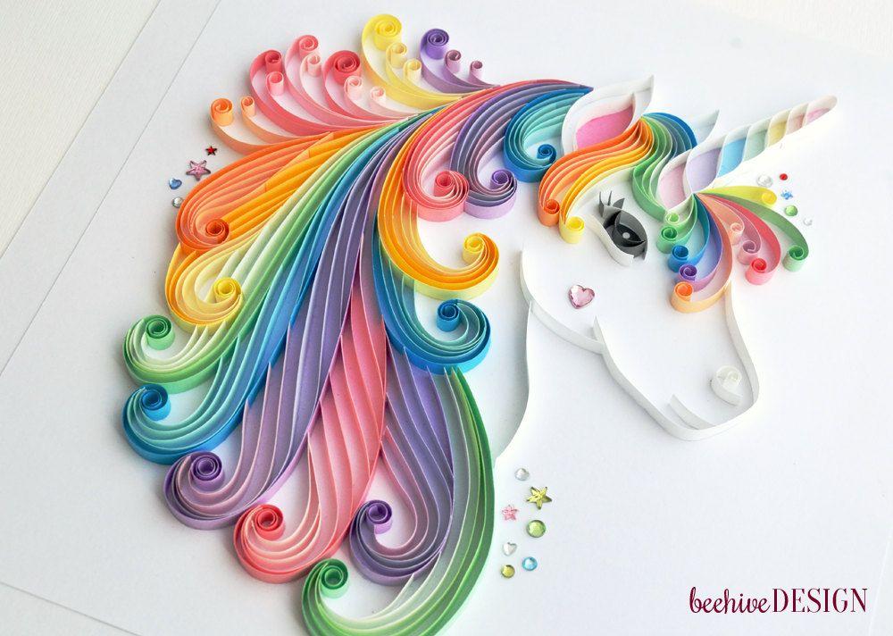 Muted Rainbow Girls Room