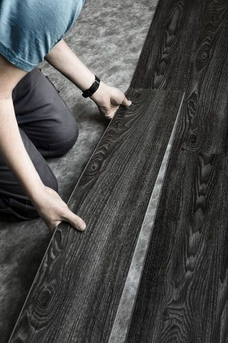 Black Vinyl Planks Black Vinyl Flooring Vinyl Wood Flooring