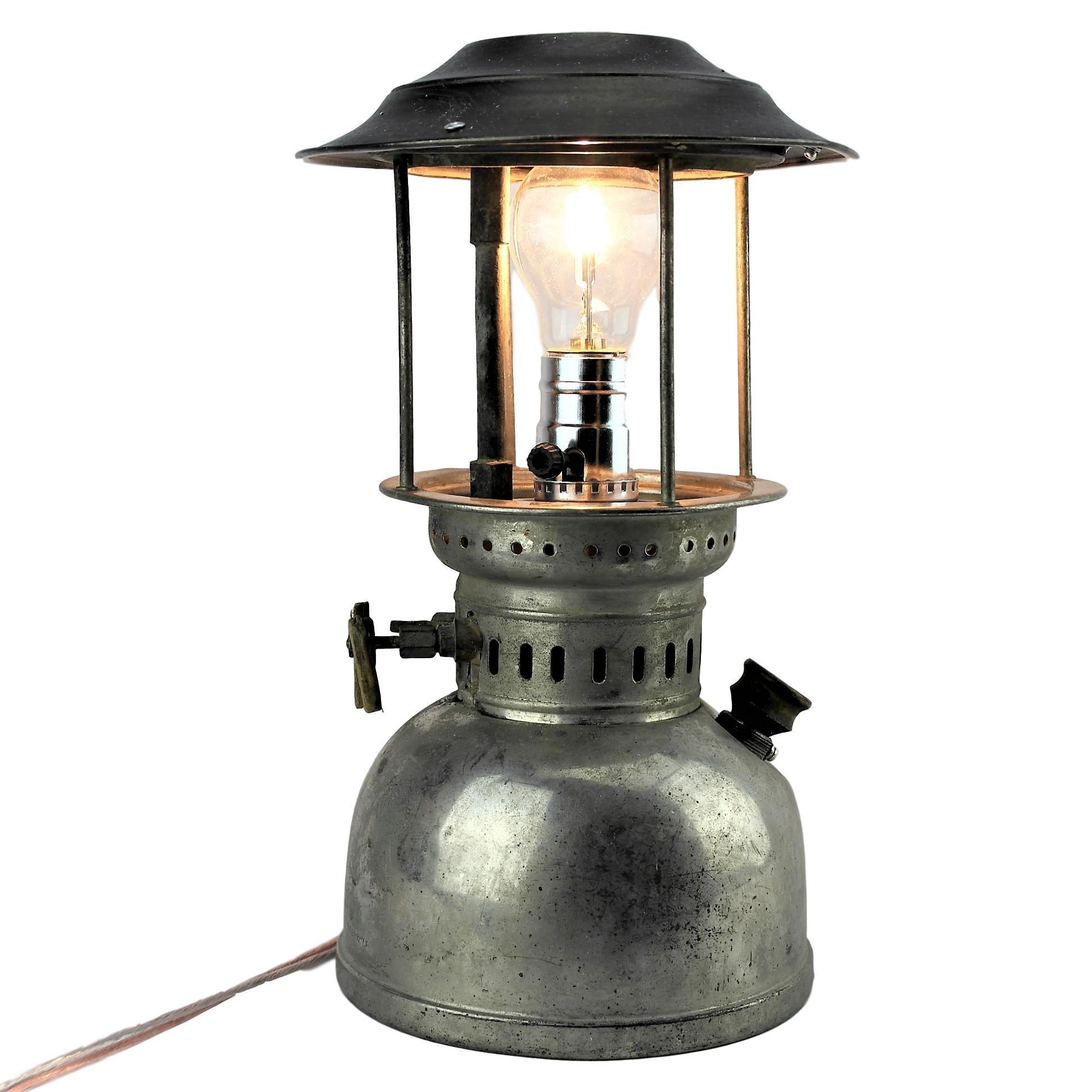 Lampara Quinque Antiguo Gas Vintage Lamp Manualidades Con Casquillos De Balas Quinque Lamparas