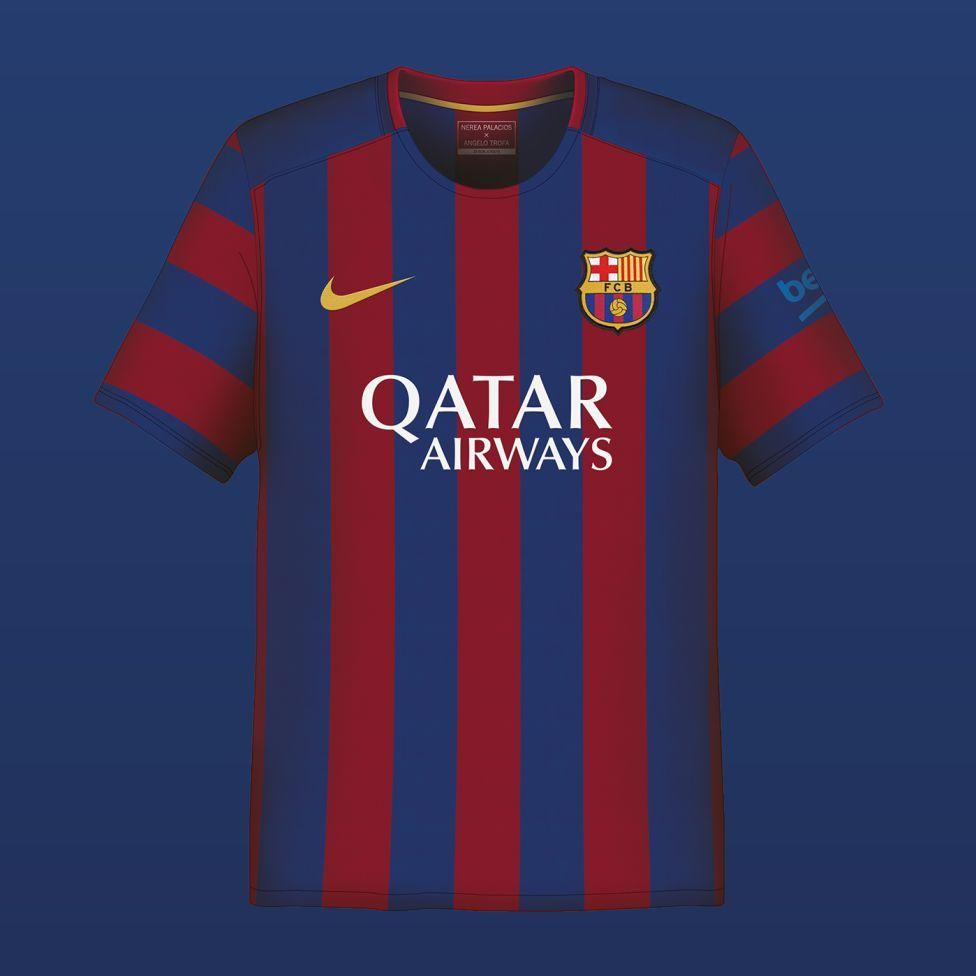 Playeras Barcelona  4656835b9fd