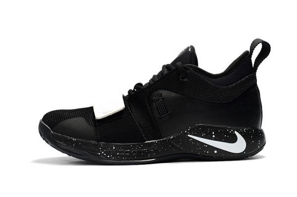 best loved b16b0 102ea New Release Paul George s Nike PG 2.5 Black White Shoes