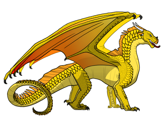 Sunny By Windstarofwindclan On Deviantart Wings Of Fire Dragons Wings Of Fire Fire Dragon