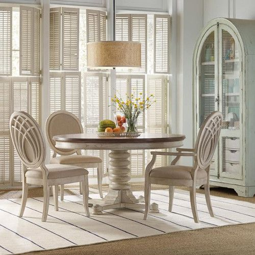 Sanibel Extendable Dining Table Pedestal Dining Table Dining