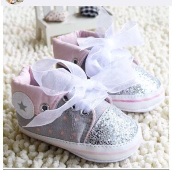 infant glitter converse sale