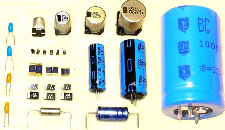 Difference Between Active Components And Passive Components Electrolytic Capacitor Capacitors Electronic Circuit Design