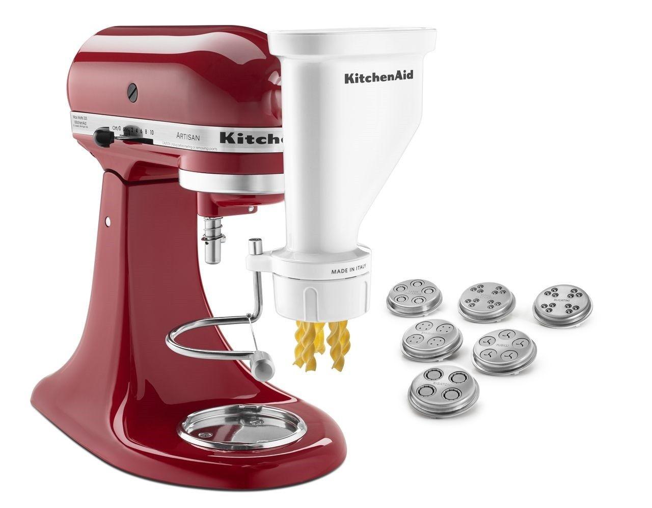Kitchenaid gourmet pasta press attachment bucatini