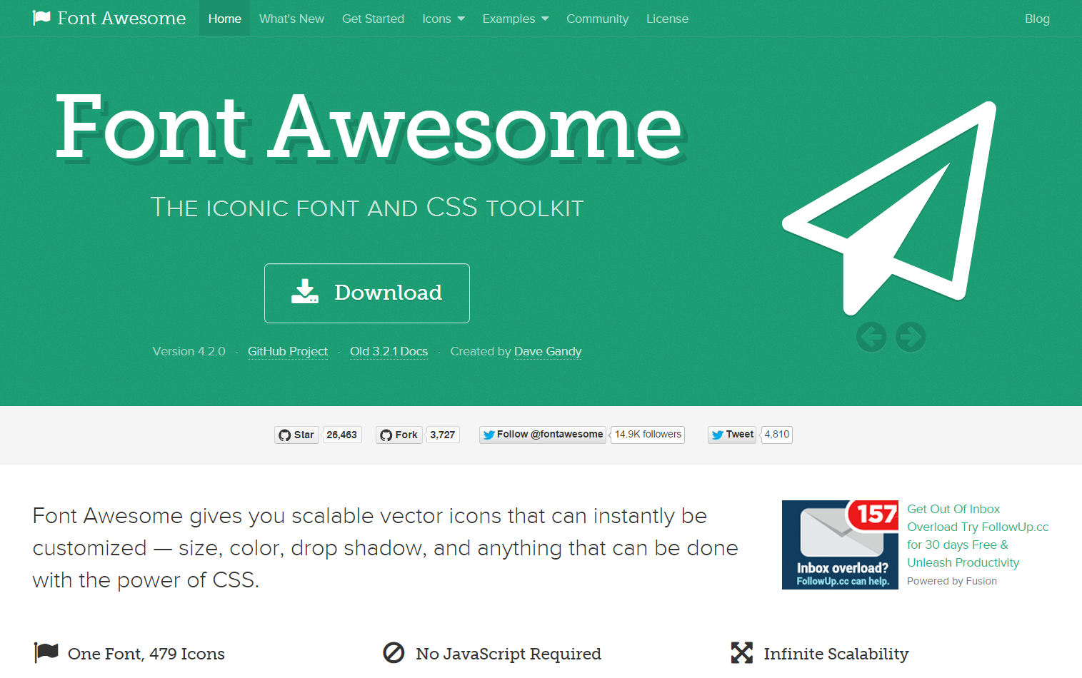 Font Awesome the iconic font and CSS toolkit Blog font