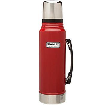 Stanley Classic Vacuum Bottle 1.1 Qt - Red