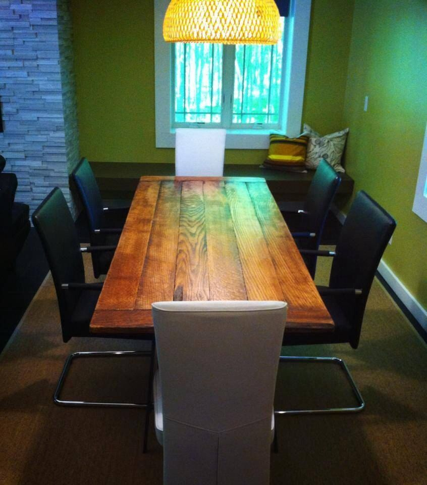 Dining Rooms Red Oak Rough Sawn Harvest Table By RusticaINNOVATIONS On Etsy 62000