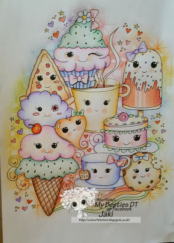 Besties Sweey Treats By Jaki Young Pinned From Facebook My