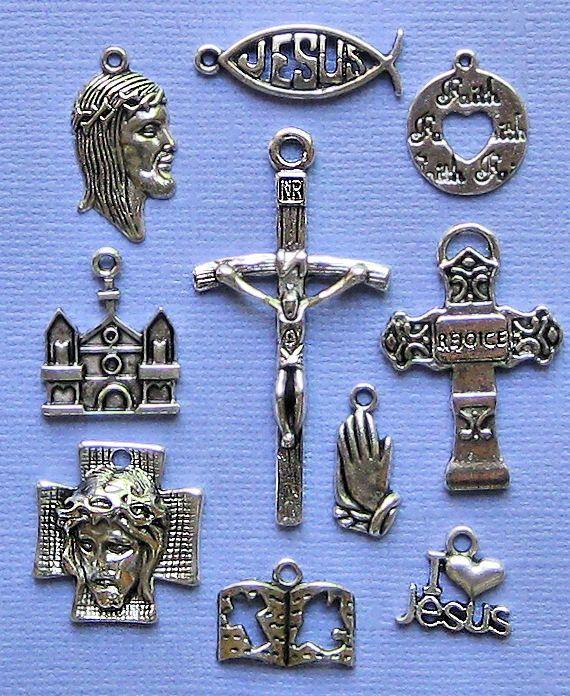Church Charm Collection Antique Tibetan Silver by BohemianFindings, $3.95