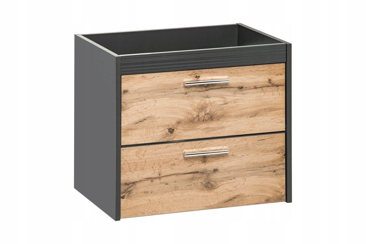 Wiszaca Szafka Pod Umywalka 60 Cm Ibiza Antracyt 8291214923 Oficjalne Archiwum Allegro Home Decor Filing Cabinet Decor