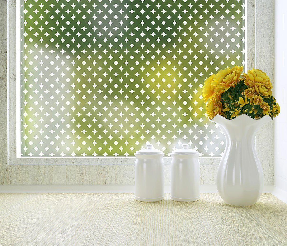 Window decor stickers  diamonds adhesive privacy film  x inch  for more information