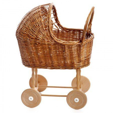 This Egmont Small Wicker Pram Is Absolutely Adorable