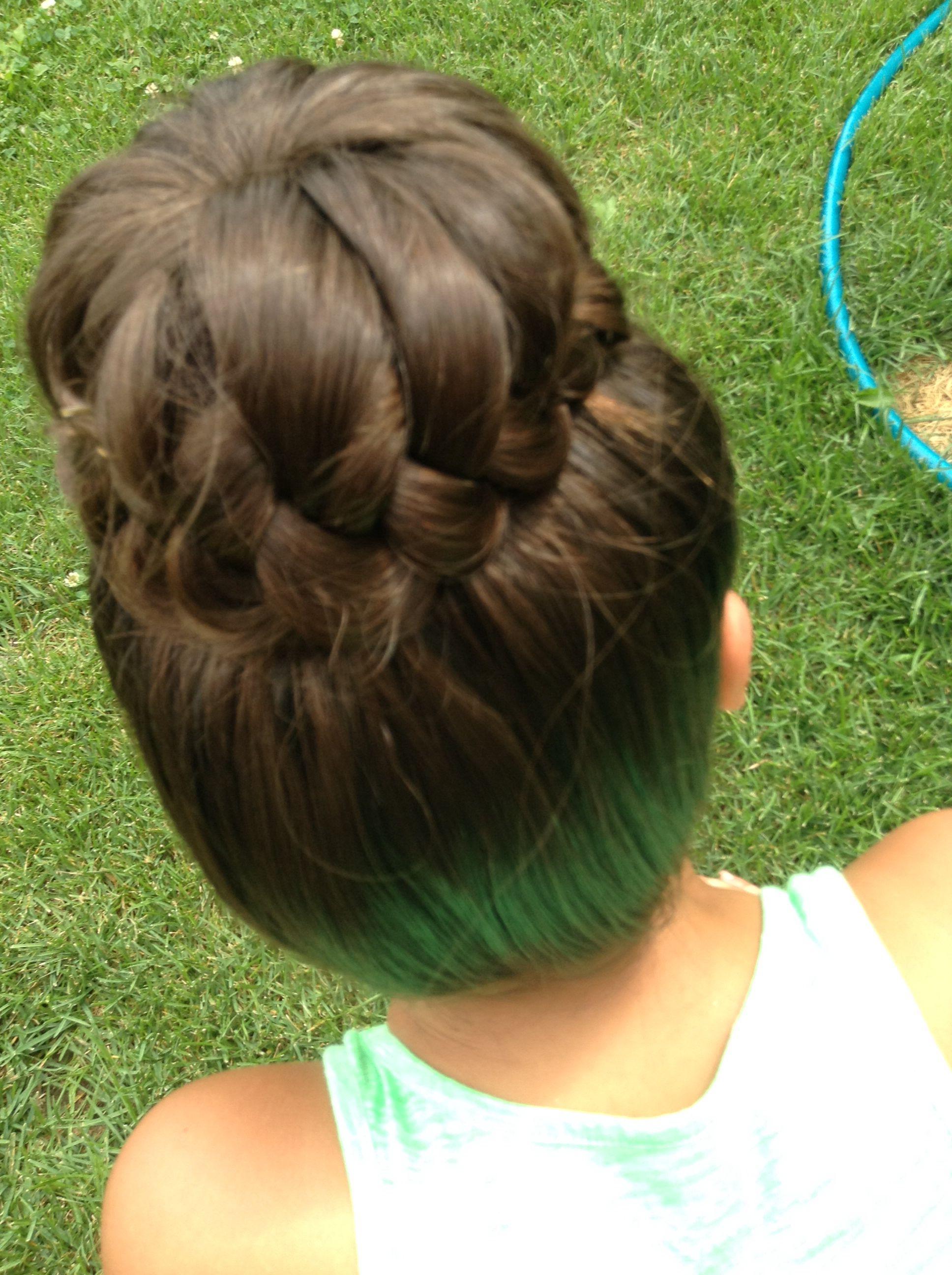Sophia lucia bun from cute girls hairstyles hair pinterest