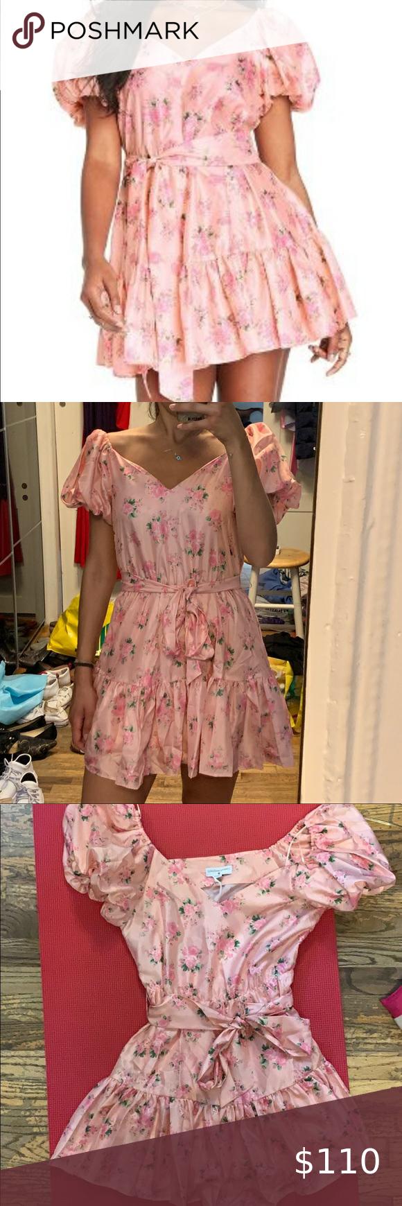 Loveshackfancy For Target Mini Floral Pink Dress Mini Floral Loveshackfancy For Target Dress With Tie Waist Size 2 Neve Pink Dress Pink Floral Dress Dresses [ 1740 x 580 Pixel ]