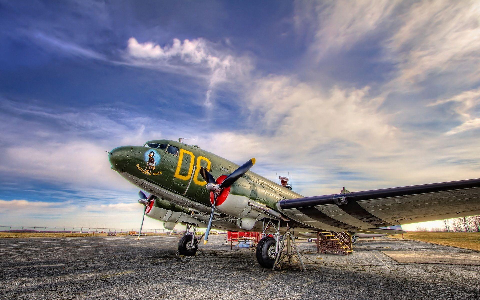 Douglas C47 Aircraft Bush Plane Airplane Wallpaper