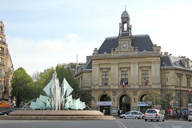 Place Gambetta - Paris (France), via Flickr.