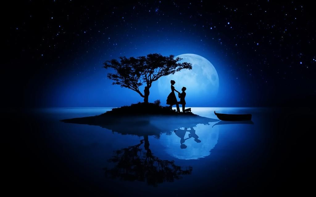 Photographer On Twitter Couple Silhouette Galaxy Pictures Love Wallpaper