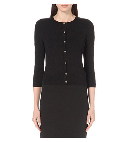 ad6f4ad60 TED BAKER Ginahh Lace-Detail Cardigan.  tedbaker  cloth  knitwear Ted Baker