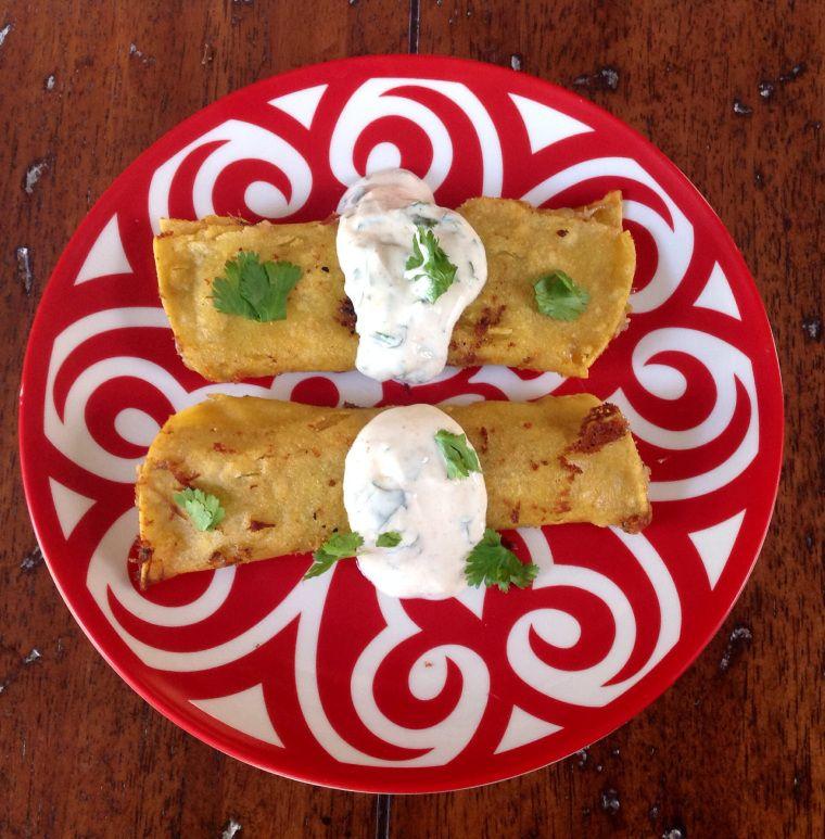 Leftovers Taquitos   A Pleasant Little Kitchen Recipe  