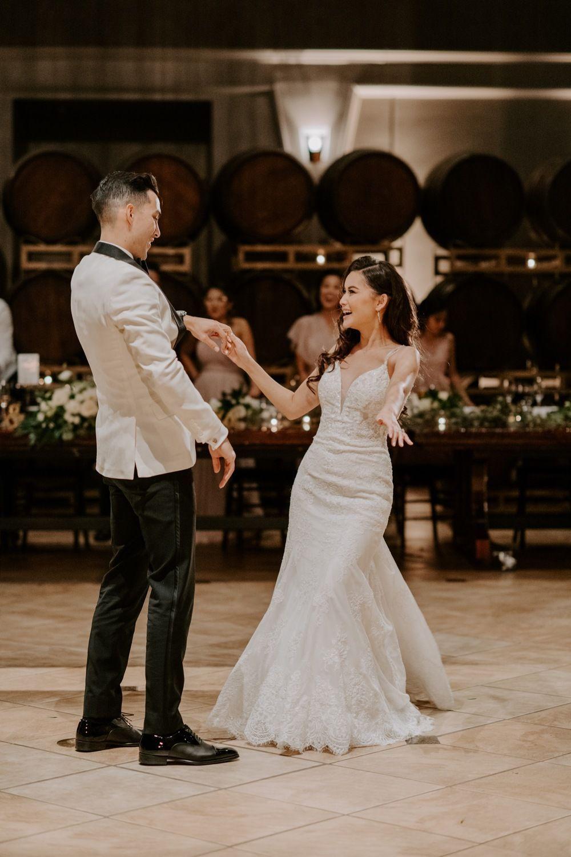 dream wedding, bride and groom, palm event center, palm