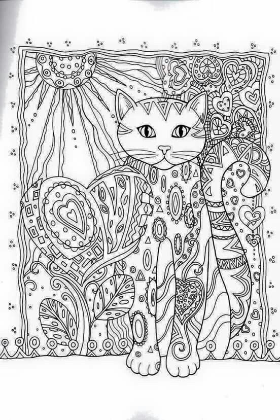 Creative Haven Creative Cats Dover Publications Coloring | gatos ...