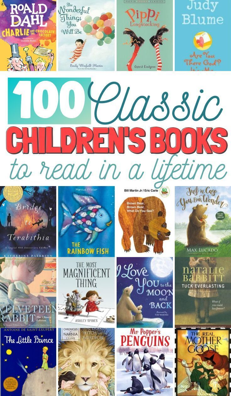 100 childrens books to read in a lifetime classic