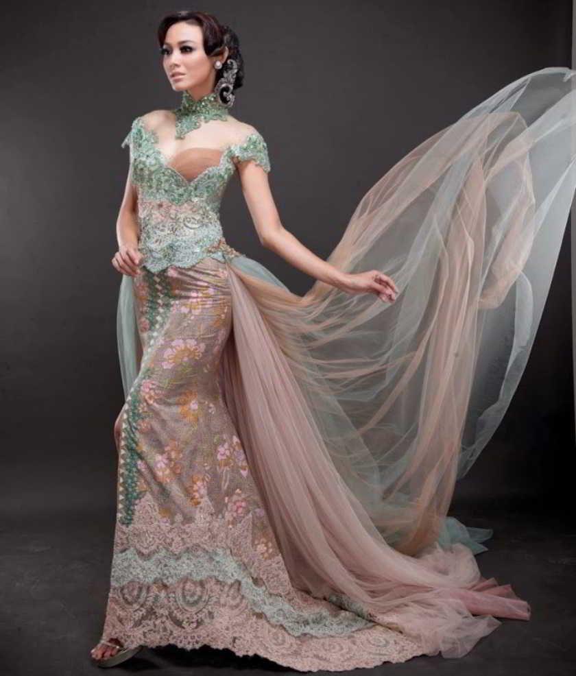 Model Baju Kebaya Pengantin Buatan Ivan Gunawan Fashion Modis