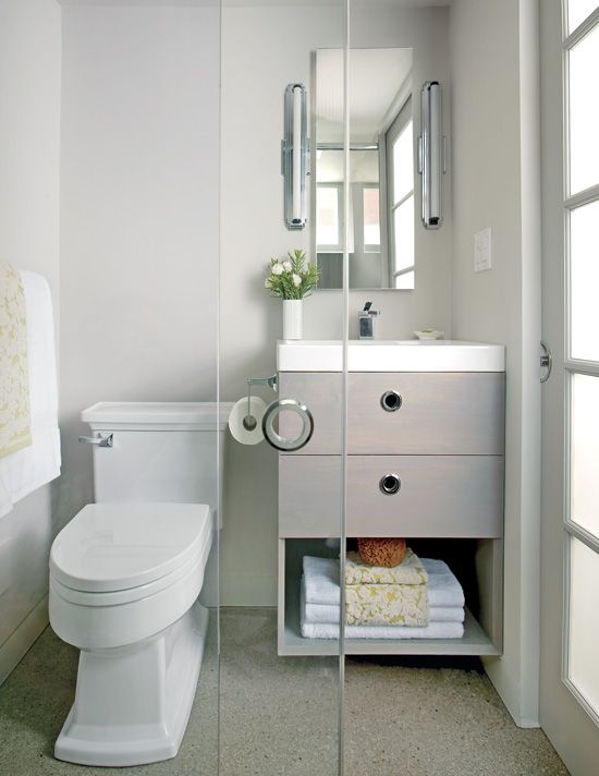 small bright bathroom ideas