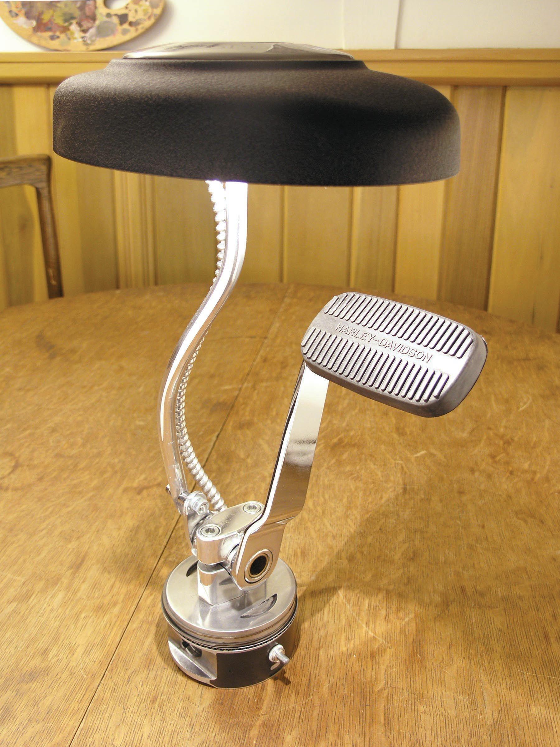 Harley davidson brake pedal lamp chromesculpture pinterest harley davidson brake pedal lamp mozeypictures Image collections