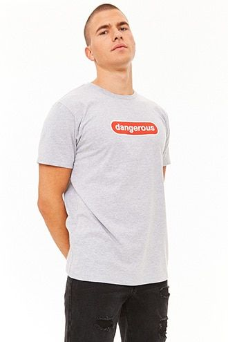 f0a95914e Dangerous Graphic Tee | Products | Graphic tees, Tees, Mens tees