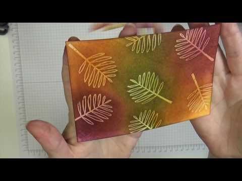 Stampin' Up! Totally Trees 075 - YouTube