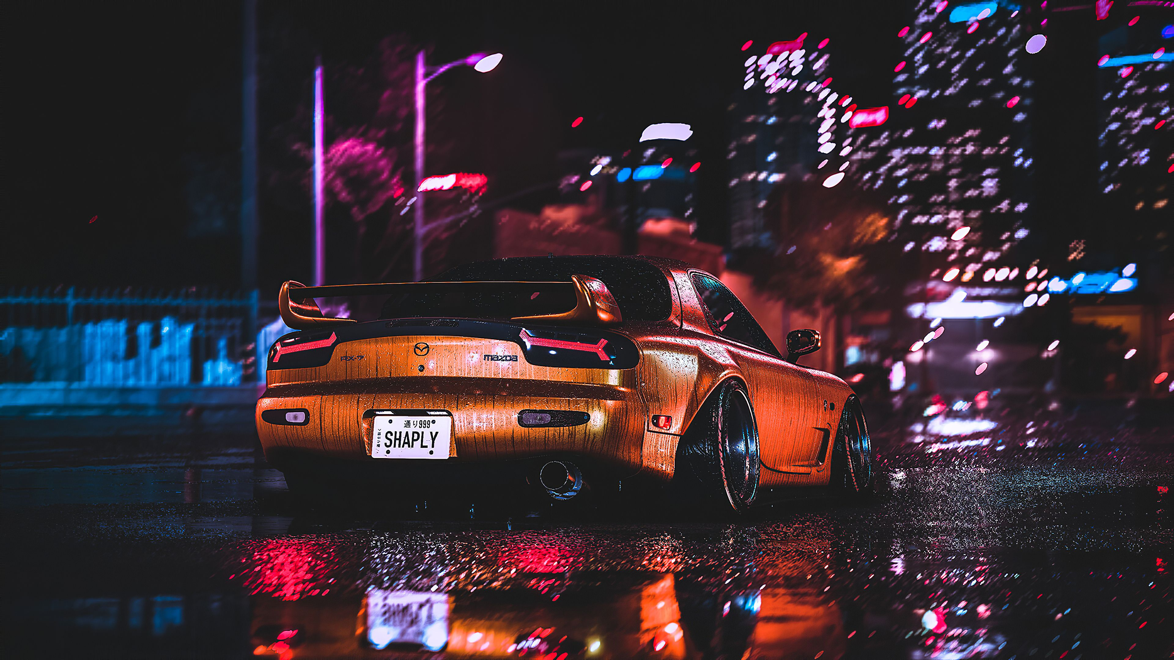 Mazda Rx7 City Night Lights Mazda Wallpapers Mazda Rx7 Wallpapers Hd Wallpapers Cars Wallpapers Artstation W In 2020 Hd Wallpapers Of Cars Mazda Rx7 Car Wallpapers
