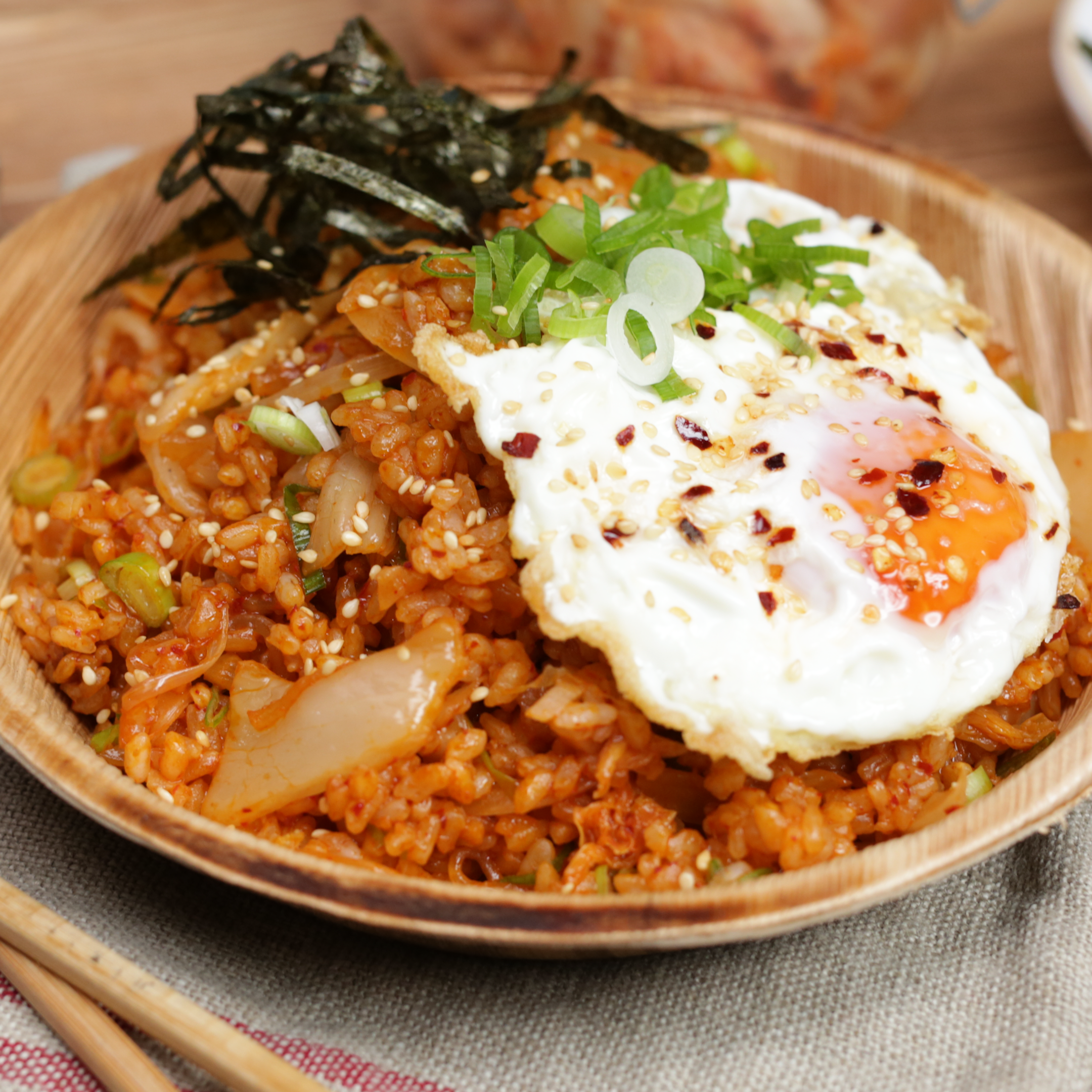 How to create epic kimchi fried rice at home!