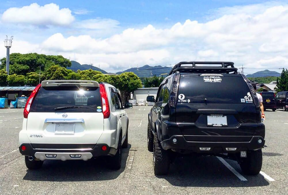 lifted nissan x-trail with off-road mods - jdm suv | x
