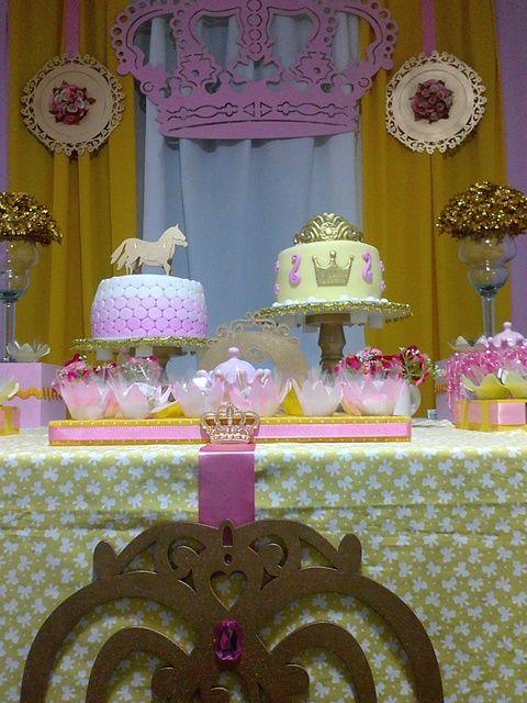 Idéias princesa festa de aniversário | Foto 1 de 7 | Pegue My Party