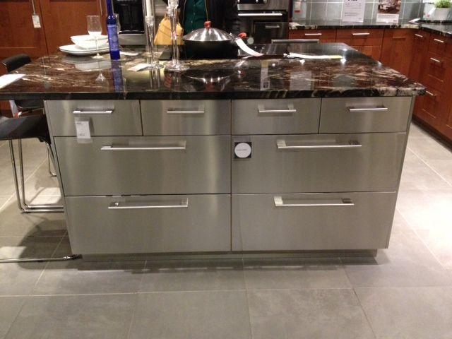 Bryn Alexandra Ikea Love Ikea Kitchen Island Kitchen Island With Seating Industrial Kitchen Design Restaurant