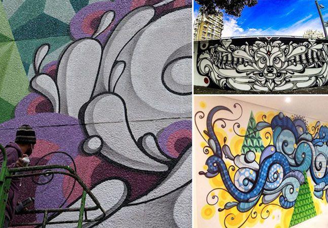 Conheça as novas obras do Museu Aberto de Arte Urbana que estão colorindo as ruas de SP