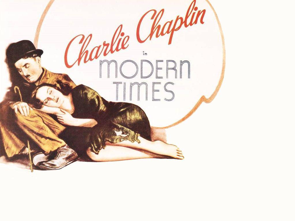 Charlie Chapline &amp- the beautiful Paulette Goddard.   them ...