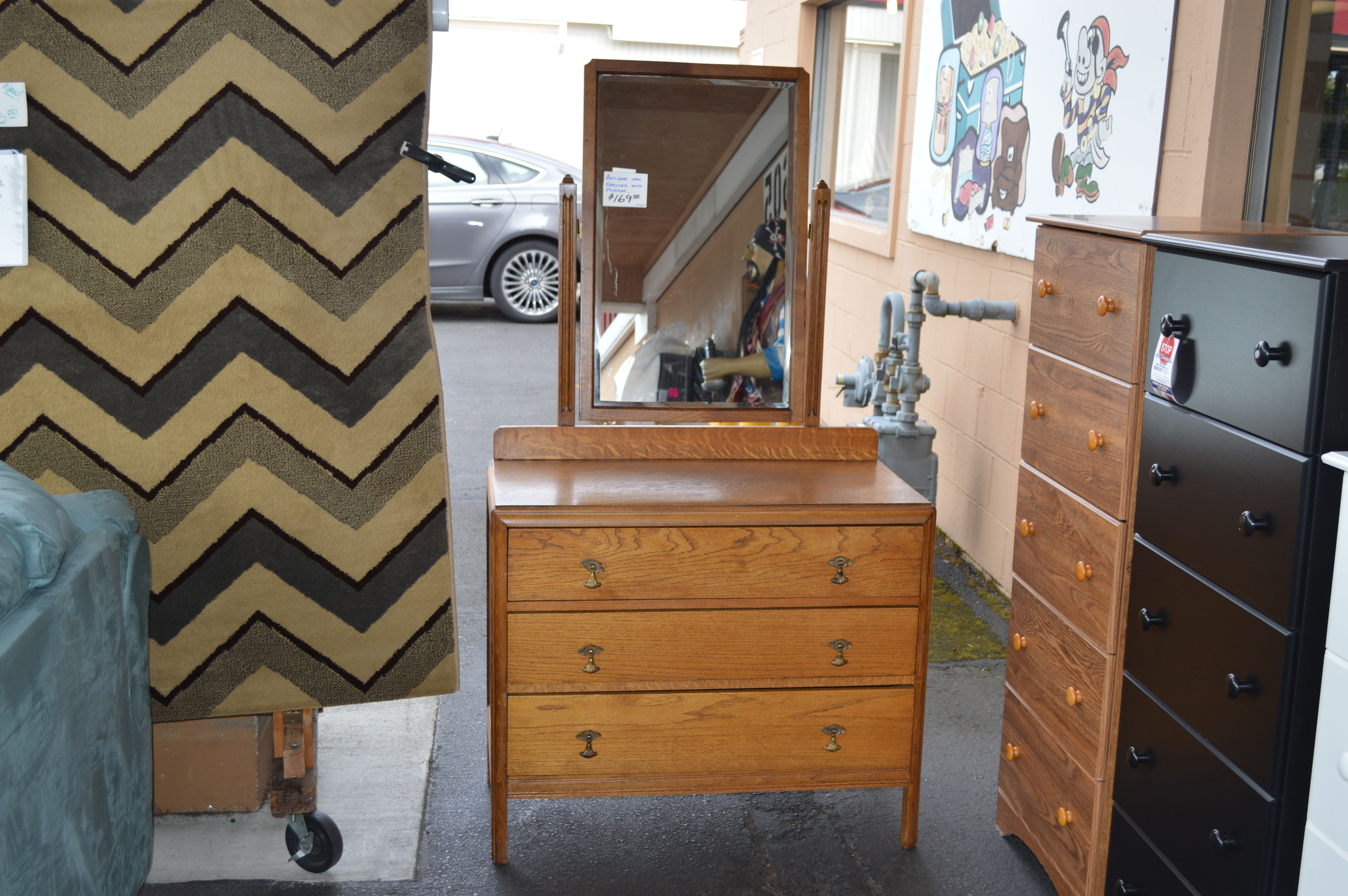 Antique oak dresser mirror dresser with mirror oak