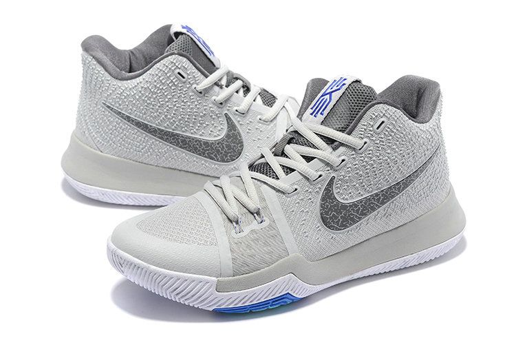 pretty nice 63889 56918 New Arrival Cheap 2017 Kyrie 3 III Wolf Grey Cool Grey