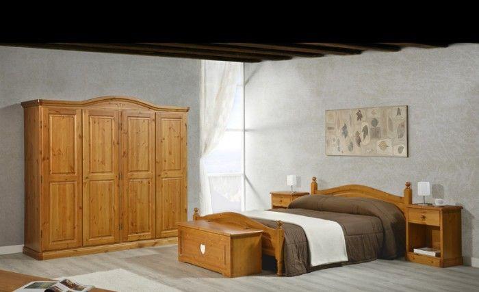 Mobili Rustici Camera Da Letto : Camere da letto in pino camera ortisei cuore arredamenti rustici