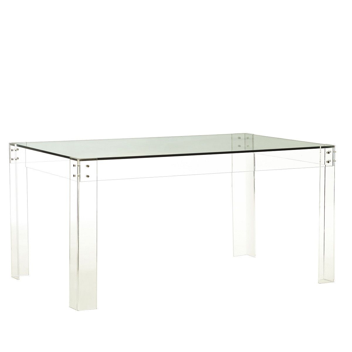 The Disappearing Dining Table Dining Room Furniture Table Wisteria Furniture Acrylic Dining Table Dining Table Chairs