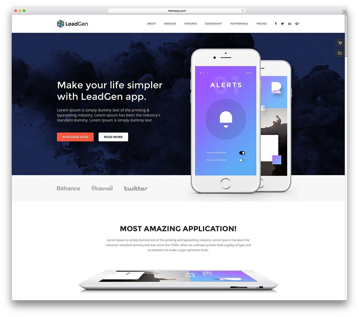 Beautiful Simple HTML Website Templates Colorlib - Simple web template