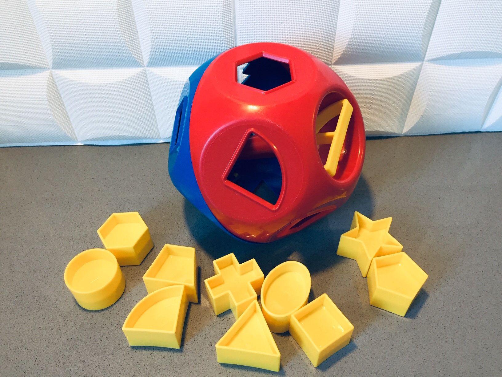 vtg tupperware jouets forme boule
